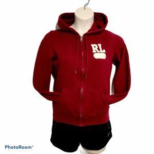 Ralph Lauren Zip Up Hoodie Sweater *